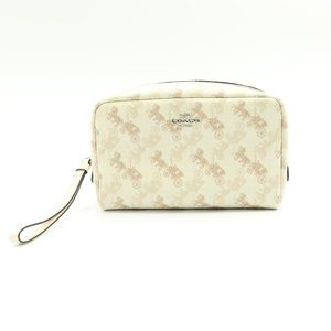 BOXY COSMETIC CASE WITH HORSE AND CARRIAGE 528